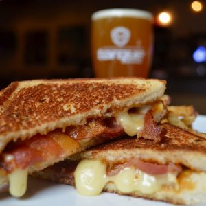 Grilled Cheese & Bacon